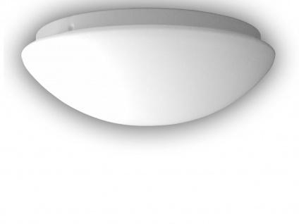 LED Deckenleuchte OPALGLAS matt Deckenschale rund Glas Ø35cm Küchenlampe dimmbar