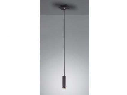 Dimmbare LED Spot Hängeleuchte schwarz matt für Innen, Wohnzimmer, Küche & Büro
