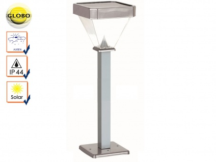 Globo LED Solarleuchte Wegeleuchte 1m, Gartenlampe Solar Außenbeleuchtung IP44 - Vorschau 1