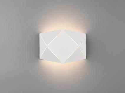 Ausgefallene Treppenbeleuchtung, kleine flache Lasercut Treppenhaus Wandlampen