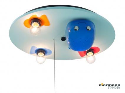Deckenleuchte WAL, Schlummerlichtfunktion und LED-Farbwechsler Kinderzimmerlampe