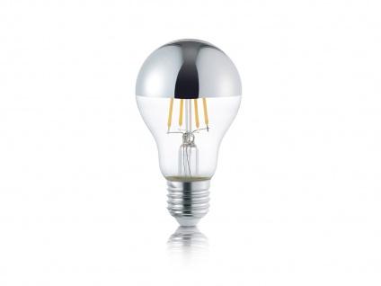 LED Leuchtmittel mit E27 Fassung und 4W, 420 Lumen in Warmweiß, Glas transparent