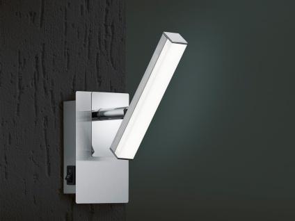 LED Wandstrahler Nickel matt Spot schwenkbar 4, 5W - Wandleuchten Schlafzimmer - Vorschau 2