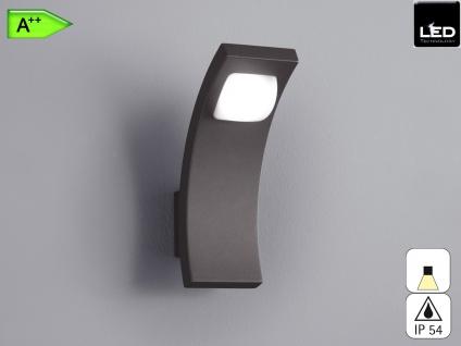 Außen-Wandleuchte SEINE, anthrazit, inkl. 6 Watt LED, 360 Lm, IP54