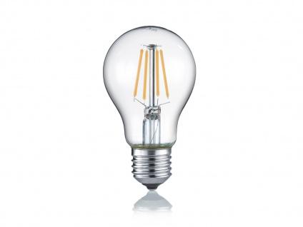 Glas klares LED Leuchtmittel mit E27 Fassung mit 4 Watt und 470 Lumen Warmweiß