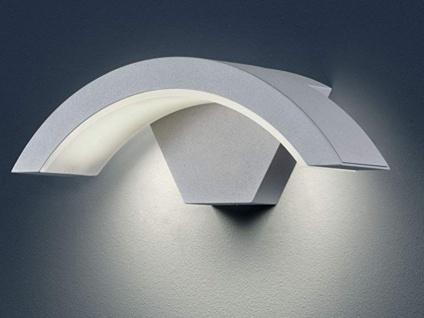 Außenleuchte HARLEM titan, IP54, 6 W LED, Höhe ca. 10 cm