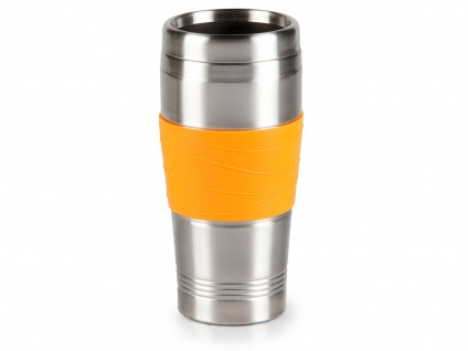Thermobecher, Orange 400ml, Kaffeebecher zu DO439K, Isolierbecher Travel Mug
