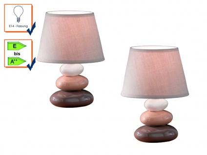 Tischleuchte Tischlampen Tischlampe PIBE im 2er Set Honsel Leuchten