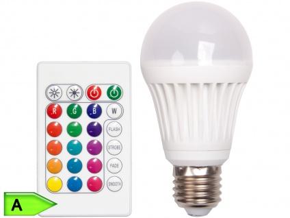 3W RGB LED E27 Birne Farbwechsler und Fernbedienung XQ-lite
