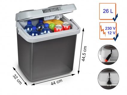 Mobile 26L thermoelektrische Auto Kühlbox 12/230 Volt - mit klappbarem Ständer - Vorschau 2