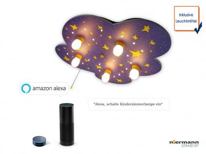 LED Deckenleuchte Kinderzimmer NACHTHIMMEL Wolkenlampe Amazon Echo kompatibel