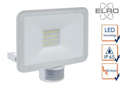 20W LED Strahler Fluter weiß Bewegungmelder 6 Meter Scheinwerfer Wandstrahler