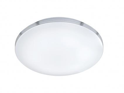 LED Deckenleuchte Badezimmerlampe APART Chrom Acryl weiß Ø 35 cm - Vorschau 2