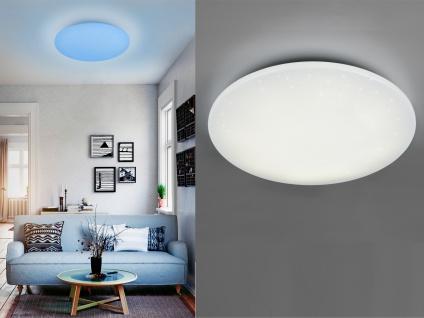 Dimmbare LED Deckenleuchte smarte Lichtsteuerung WIZ Ø 60cm Schlafzimmerlampe