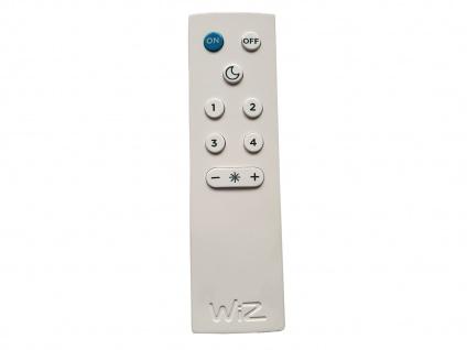 WIZ LED Wandleuchten Weiß matt mit Alexa oder App steuern 2 Stk fürs Wohnzimmer - Vorschau 4