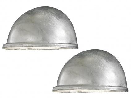 2 Stk Konstsmide Wandleuchte Downlight TORINO galvanisiert, Beleuchtung außen - Vorschau 2