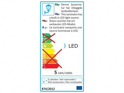 LED Außenwandleuchte Auf-& Einbauleuchte aus Alu, 12x8cm Terrassenlampen IP54 - Vorschau 4
