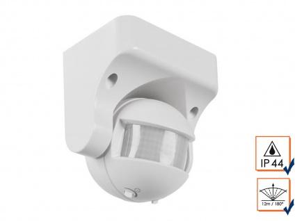 180° PIR Bewegungsmelder, Aufputz, 1200W, 12m, Bewegungssensor PIR Sensor