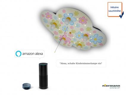 LED Kinder Deckenleuchte Wolkenlampe Blume Schlummerlicht Amazon Echo kompatibel