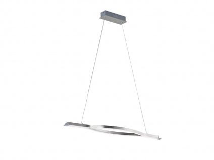 LED Pendelleuchte für den Innenbereich aus Metall, Nickel matt, 3 Stufen dimmbar