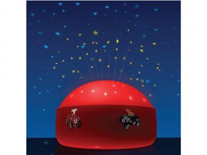 LED Nachtlicht BOBBY CAR Sternprojektor LED-Farbwechsler mit 3 Farben Ø 12cm