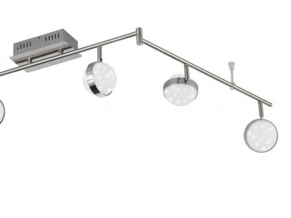 6-flammiger LED Deckenbalken, Sterndesign, MONDE, Deckenlampen Deckenleuchten - Vorschau 3