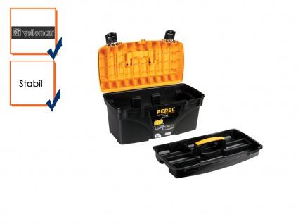 Werkzeugkiste Werkzeugkasten Werkzeugkoffer Kunststoff 535x275x280 mm