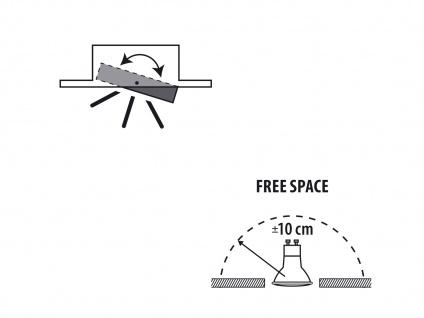 4er-Set Aluminium Einbaustrahler Einbauspot dimmbar schwenkbar 230LM - Vorschau 4