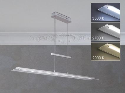 Höhenverstellbare LED Design Hängeleuchte dimmbar - Pendellampe mit Lichtfarbe