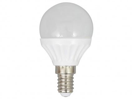 LED Leuchtmittel 4 Watt, Mini Globe warmweiß, E14, 320 Lumen, XQ-lite
