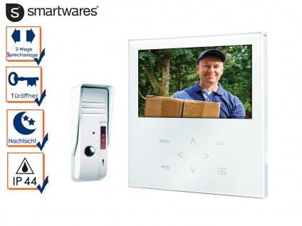 Video Türsprechanlage Touchscreen Farbbildmonitor, Einparteien Gegensprechanlage