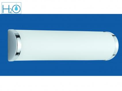 Badezimmerlampe Spiegelleuchte IP21 2 x E14 Fassung Glas opal Trio Leuchten