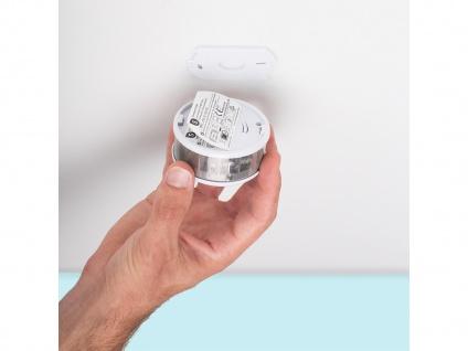 4er-Set Mini 10-Jahres Rauchwarnmelder VDS & DIN EN14604/ Maße nur 75 x 35 mm - Vorschau 5