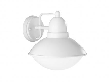 Außenwandleuchte mit dimmbarem LED Leuchtmittel E27 Fassung 800lm 3000K 10W weiß