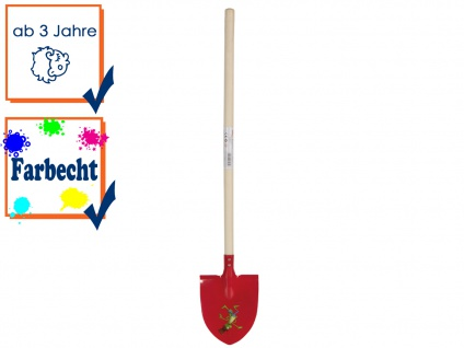 Schaufel / Schippe DIE BIENE MAJA für Kinder, Farbecht, Velleman