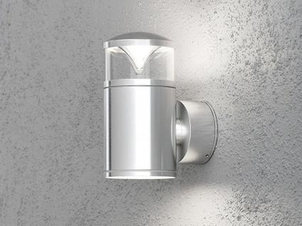 2Stk Konstsmide Energiespar Außenwandleuchte MONZA, Wandlampe Uplight Downlight - Vorschau 4