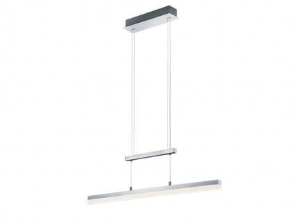 LED Pendelleuchte, Hängelampe höhenverstellbar, dimmbar, Alu / Acrylglas, Trio - Vorschau 2