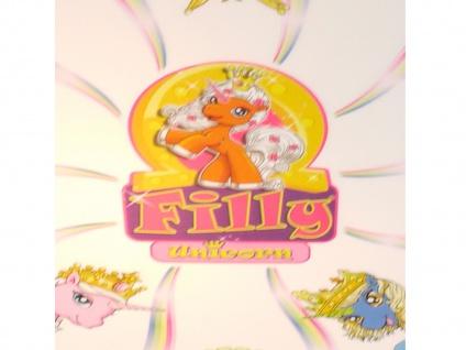 Kinderzimmerlampe Deckenleuchte Einhorn Filly bruchsichere Deckenschale Ø 36cm - Vorschau 2