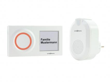 Wlan Klingelanlage: Wifi Türgong mit drahtlosem Klingelknopf für 1 Familienhaus