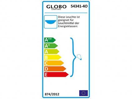 Deckenlampe ELLIOTT 4flammig Lampenschirme Glas, Deckenleuchte Strahler Wohnraum - Vorschau 3
