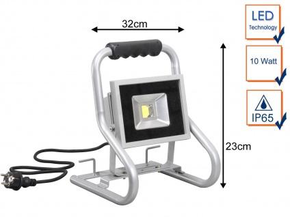 20Watt LED Baustrahler - Arbeitsleuchte Baustellenlampe Baustellenstrahler IP65