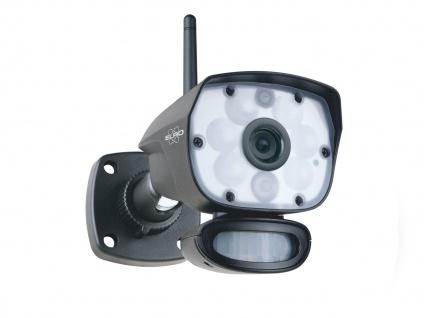 IP Videokamera Outdoor mit Bewegungsmelder, Nachtsichtüberwachung, App Steuerung