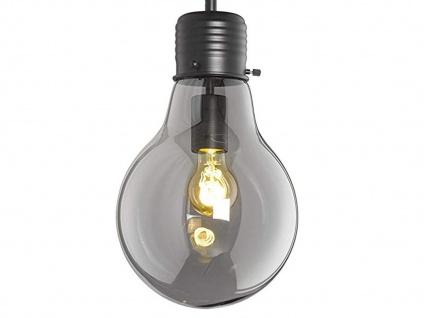 Coole Pendelleuchte LOUIS Ø28cm - Retro Hängelampe Design Glühbirne für Esstisch - Vorschau 3