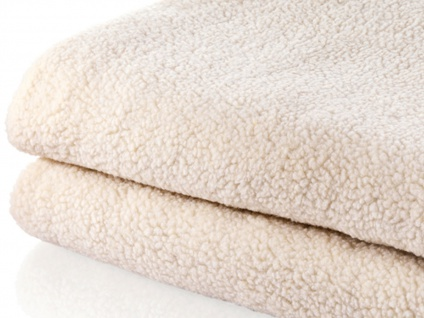 2 Personen Unterdecke aus Wolle, waschbare Heizdecke 160x140cm, Wärmetherapie - Vorschau 3