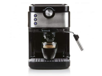 Espressomaschine mit Milchaufschäumer - Siebträger Kaffeemaschine für Zuhause - Vorschau 4