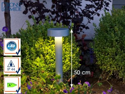 LED Wegeleuchte Sockelleuchte PESARO 50cm, Beleuchtung Garten Terrasse Eingang