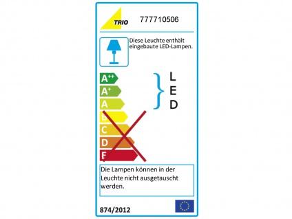 TRIO LED Deckenleuchte Seilsystem 5 Strahler Rund Chrom 5 Meter, Decken Lampen - Vorschau 4
