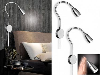 Glas Wandleuchte Tango 1xE14 Flur Wandfackel Schlafzimmer Wandlampe Wohnzimmer