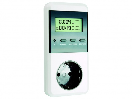 Energiekosten-Meßgerät, Höchst/Tiefstwerte, Stromkostenberechnung