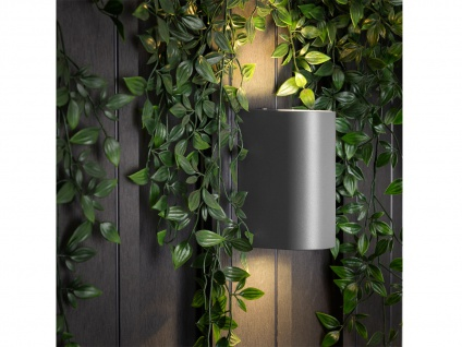 6er Set Ranex LED-Außenwandleuchte Bastia Alu anthr., up/down-light - Vorschau 5
